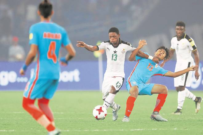 FIFA world cup, Under 17 FIFA world cup, football in India