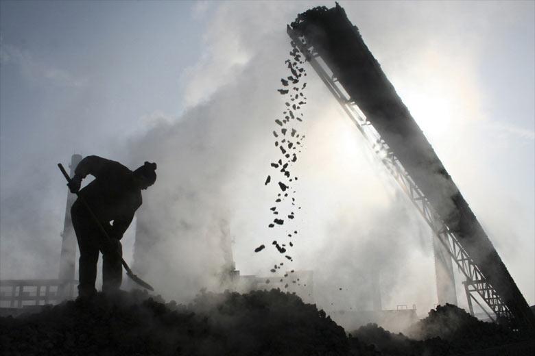 Power plants, coal industry, cement industry, steel industry