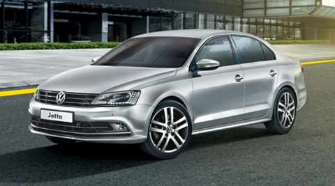 Present Volkswagen Jetta for representation purpose only