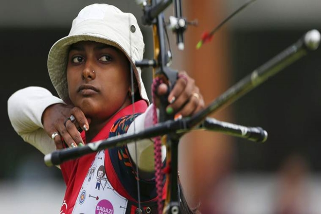 Indian women, World Archery Championships, Colombian rivals