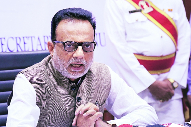 GST returns filing, Hasmukh Adhia, Centre