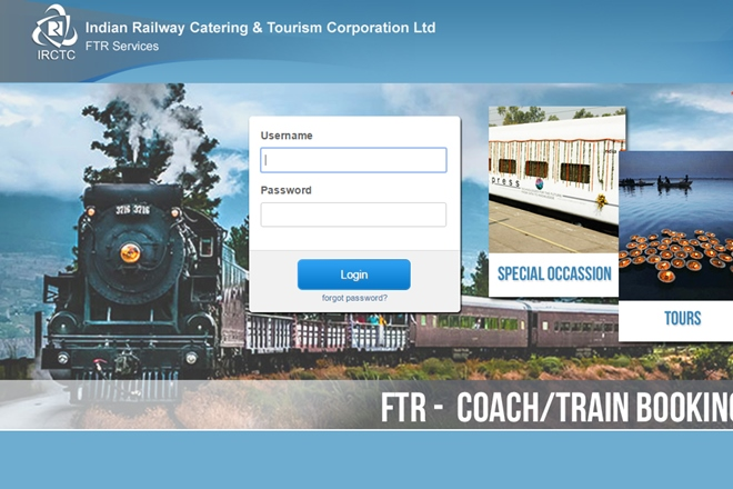IRCTC, railway bookings, Finance Ministry, online ticket bookings