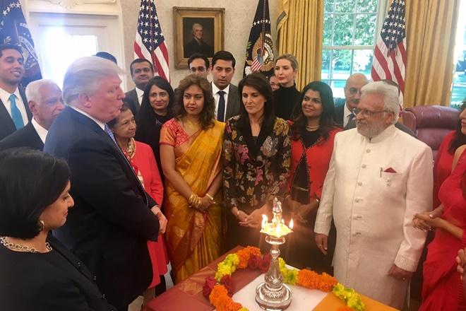 ivanka trump, donald trump, diwali white house, diwali 2017, deepawali, deepawali 2017, global entrepreneurship summit