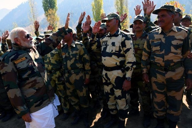 diwali, narndra modi, nirmala sitharaman, diwali for soldiers, modi diwali, andaman and nicobar islands