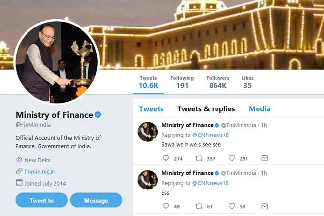 ministry of finance, ministry of finance tweet. ministry of finance twitter, arun jaitley, covfefe, twitter jokes