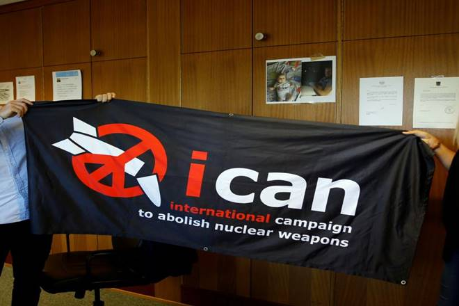 ‪‪Nobel Peace Prize‬, ‪International Campaign to Abolish Nuclear Weapons‬, ICAN, Nobel Prize Peace, Nobel Prize, Nobel Committee‬‬, Nobel Peace Prize Winners, Nobel Peace Prize 2017, What is ICAN, What is ‪International Campaign to Abolish Nuclear Weapons, Nuclear Weapons, Nobel Prize 2017, Treaty on the Prohibition of Nuclear Weapons, TPNW