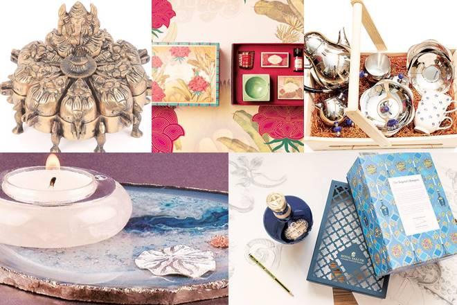 Gifting guide, traditional diwali gifts, diwali gifts, religious symbols, diyas, lights, tableware