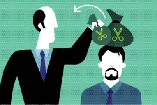 tax outgo, tax, employees