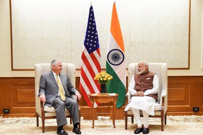 Rex W Tillerson, rex tillerson in india, Pakistan, us state department,narendra modi, modi, United States Secretary of State, Prime Minister Narendra Modi, Sushma Swaraj, US foreign policy, Tillerson, pm narendra modi,