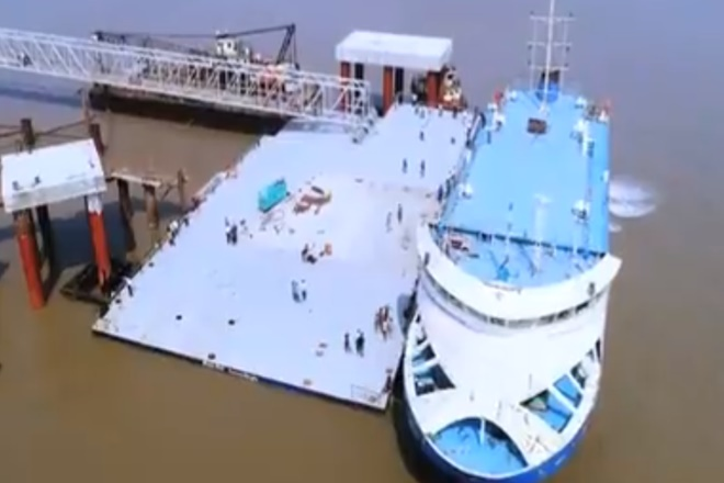 ro ro ferry service, ro ro services gujarat, ghogha dahej ro ro ferry services, narendra modi, gujarat ferry services