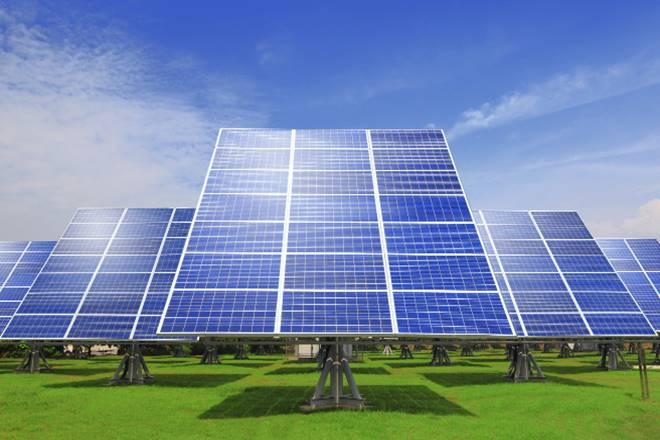 Centre, Solar energy