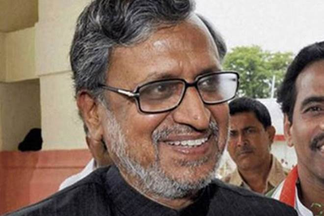 sushil modi, sushil modi meeting, gst council meeting, gom meeting, group of ministers meeting