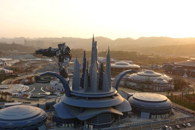 china, Apple, Oriental Science Fiction Valley park, virtual reality, virtual reality sci-fi theme park, sci-fi theme park, theme park, Guizhou, tourism, china latest news