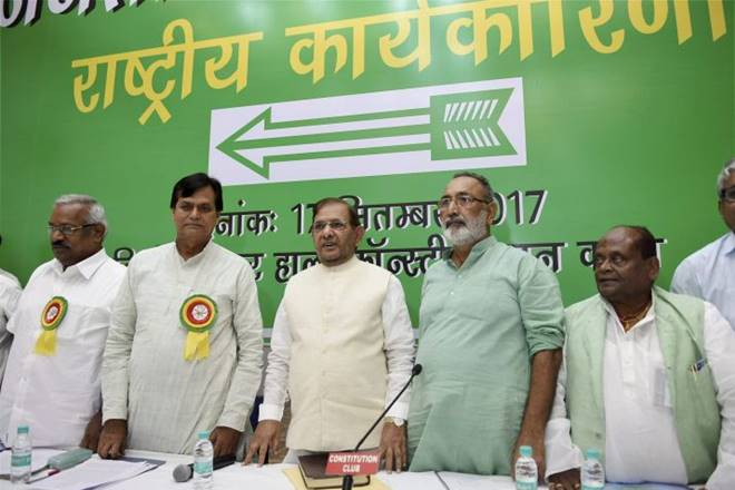 JDU, JDU arrow symbol, arrow symbol controversy, JDU party symbol,JDU party symbol controversy, symbol controversy, Bihaar politics, Sharad Yadav, Election Commission of India, ECI, Nitish Kumar