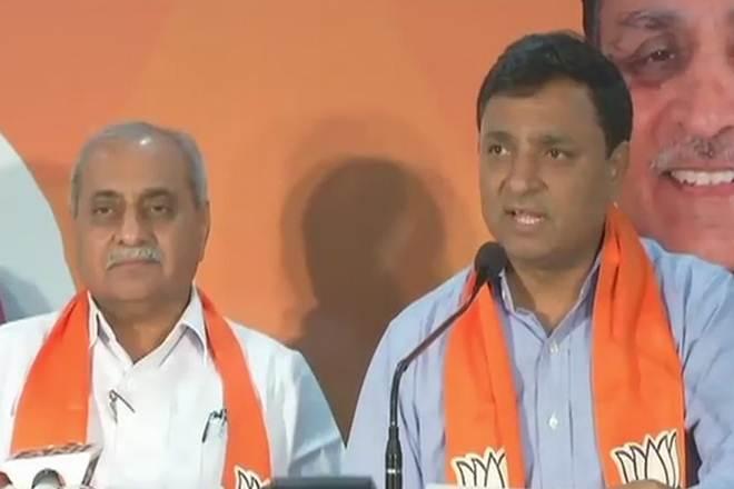Chirag Patel, Hardik Patel, Hardik Patel sex cd row, bjp, PAAS,Patidar Anamat Andolan Samiti,Bharatiya Janata Party,cd row, sexcd row, Gujarat election, gujarat assembly election