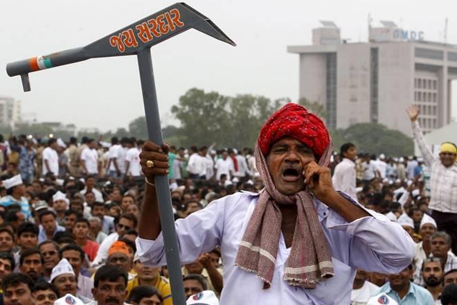 Gujarat polls,Gujaratelections,Gujarat polls,Farmers protest,Farmers protest in India,Farmers protest in Gujarat, farmers relief from high debt, BJP, BJP in Gujarat elections