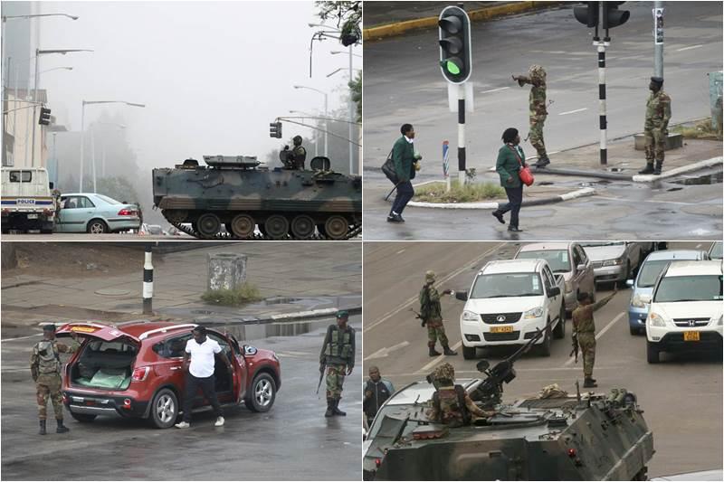 Zimbabwe, Zimbabwe military, Zimbabwe military coup, Zimbabwe crisis, Zimbabwe army, President Robert Mugabe, President mugabe, Zimbabwe under military, Major General Sibusiso Moyo, house arrest, Robert Mugabe house arrest, independence, Britain, world news