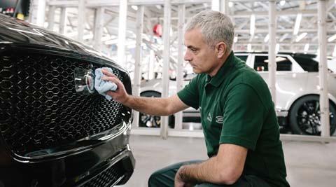 Jose Mourinho becomes 100,000th Jaguar F-Pace customer