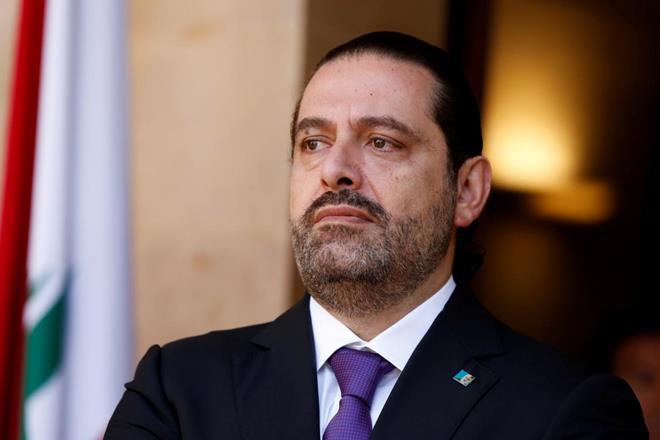 Emmanuel Macron, Saad Hariri, French government, Macron, Saad, Paris