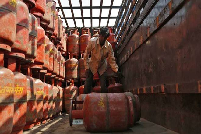 The Narendra Modi government's flagship Pradhan Mantri Ujjwala Yojana (PMUY), which has provided more than 3 crore liquefied petroleum gas (LPG) connections to poor households over the last one and a half years. (Image: IE)