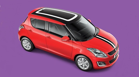 Maruti Suzuki Swift for representation purpose only
