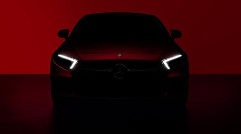 Mercedes-Benz CLS teased ahed of 2017 LA Auto Show