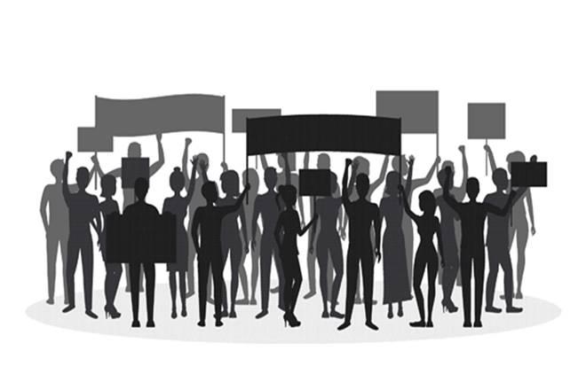 Jantar Mantar, Delhi, iconic protest site, Social media