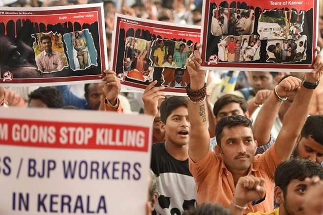 kerala violence, rsscpmclash, fourrss workers attacked, kannurattack,