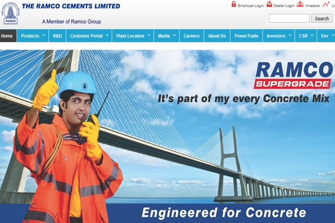 ramco, ramco cement revenue, ramco cement profit, ramco cement market rating