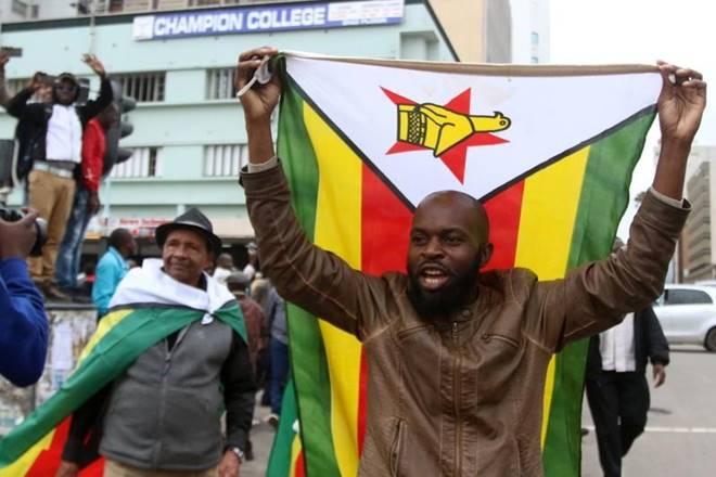 Robert Mugabe,Robert Mugabe resignation,Robert Mugabe resigns,Robert Mugabe Zimbabwe,despotic rule of Robert Mugabe,Zimbabweans celebrate,Zimbabweans celebrate Mugabe resignation