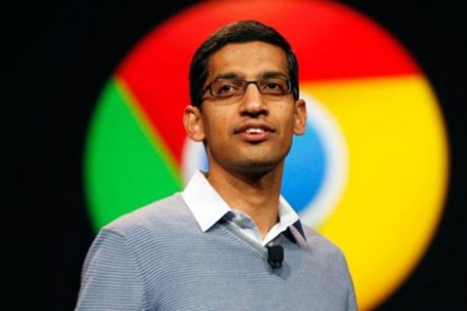Sundar Pichai,Android burger, google, google office,Seattle,Apple burger emojis,Google CEO,social media