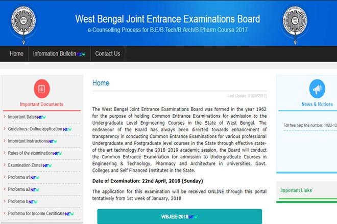 wbjee, wbjee 2018, wbjeeb.nic.in, wbjee 2018 exam date, wbjee 2018 syllabus, wbjee 2018 eligibility, wbjee 2018 form date, wbjee 2018 eligibility criteria, wbjee 2018 exam centre, wbjee 2018 pattern, wbjee 2018 cut off, West Bengal Joint Entrance Examination, West Bengal Joint Entrance Examination board, education news