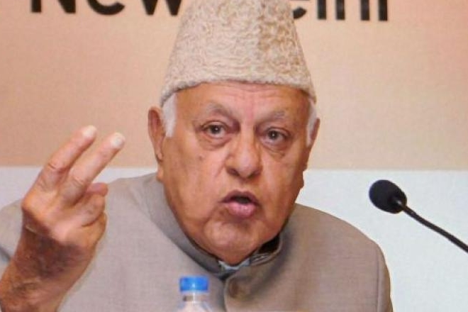 farooq abdullah, pok remarks, pakistan occupied kashmir, national conference