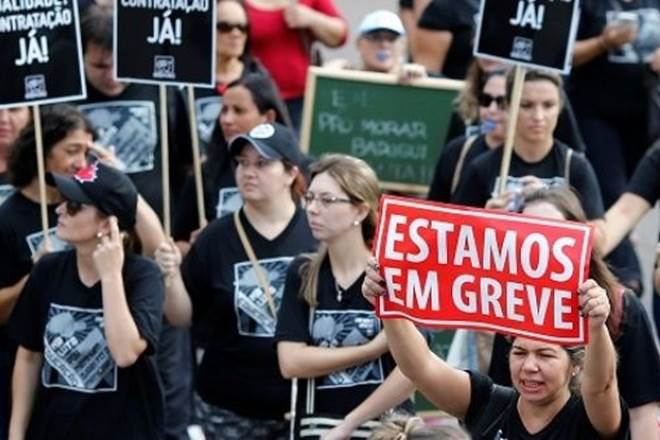 brazil protests, labour reforms, brazil, brasilia, labour, worker rights, massive protests,