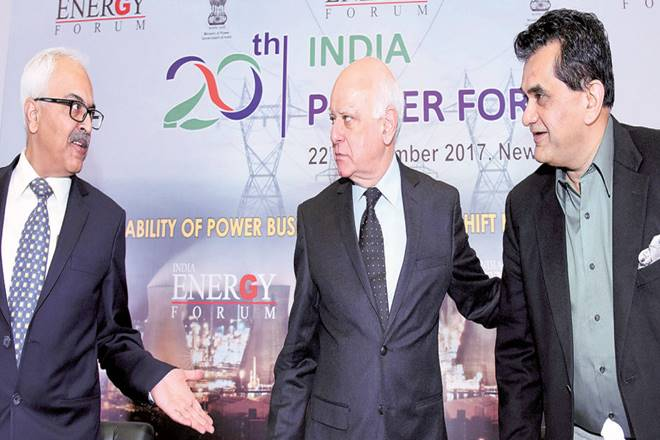 Amitabh Kant,NITI Aayog CEO,Aadhaar,UDAY scheme,Saubhagya scheme,plant load factors,discoms,AK Bhalla,20th India power forum