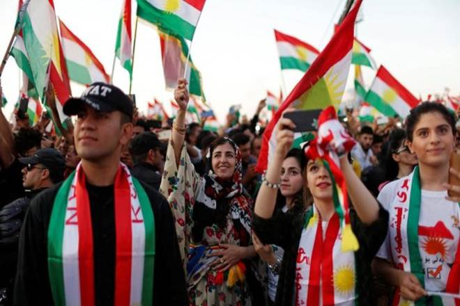 """Today's legal move was the latest stage in a crisis sparked by the referendum, which resulted in a resounding """"yes"""" vote for independence in the Kurdish area. (Reuters)"""