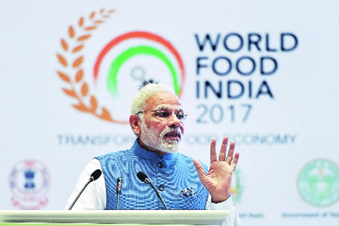 modi, modi world food india, world food india modi