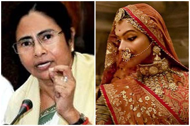 padmavati, mamata banerjee, deepika padukone, sanjay leela bhansali, padmavati ban, padmavati controversy