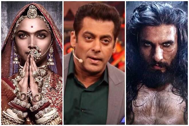 Padmavati, Deepika Padukone, Ranveer Singh, Salman Khan, Alauddin Khilji, Rani Padmini, dream sequence, padmavati, Weekend Ka Vaar, bigg boss 11, alauddin khilji padmavati scene