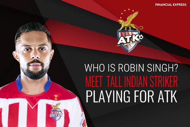 Who is Robin Singh, ATK striker