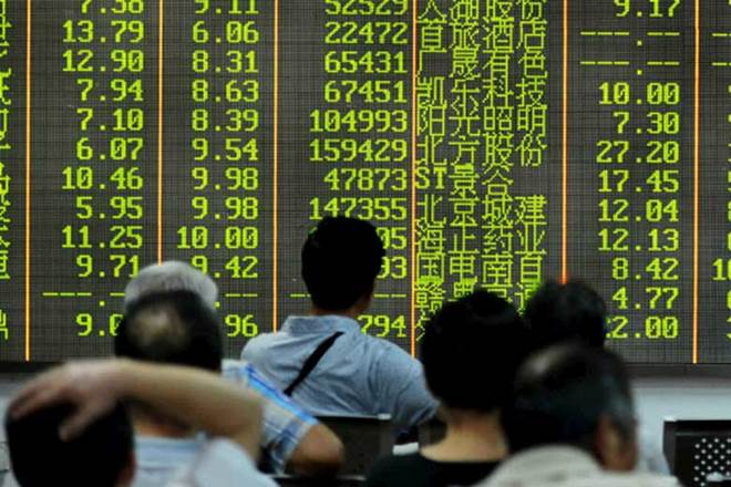 China stock report, Large cap shares, Investors, Bond rout