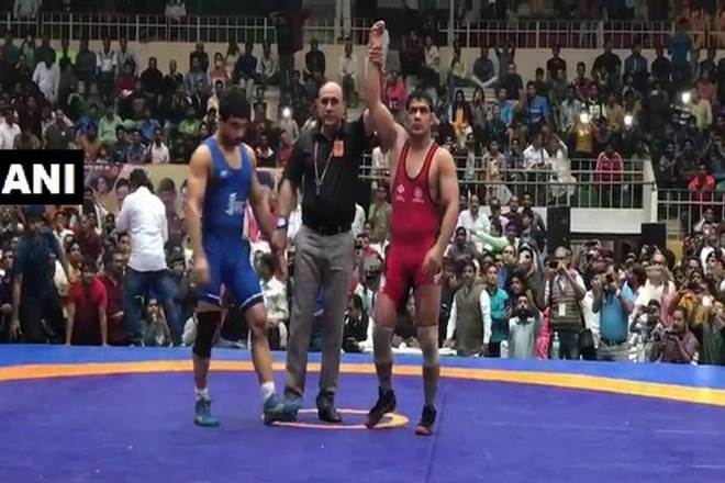 National Wrestling Championship,Sushil Kumar,Sushil Kumar wins,Sushil Kumar wins gold, gold medal india, sports news