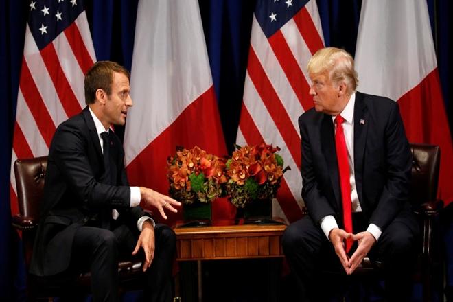 Donald Trump,Emmanuel Macron,French market shooting, US President,France,US,Gerard Collomb,Super U