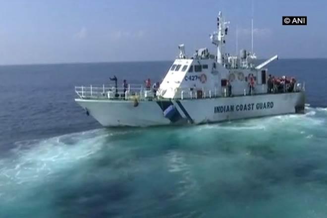 Cyclone Ockhi,Indian Navy,Indian Navy Ship Kalpeni,SAR operations,Arabian Sea,Minicoy Islands, INS Shardul,Coast Guard Ship Vaibhav