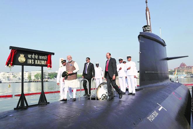 INS Kalvari, Minister Narendra Modi, Ecosystem, India, Navy