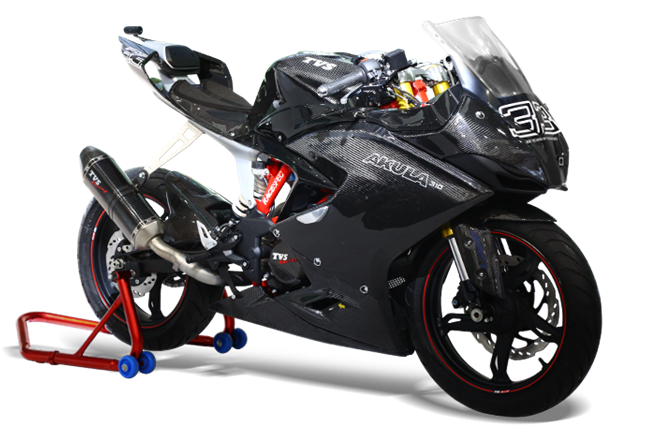 TVS Apache RR 310, most powerful TVS motorcycle