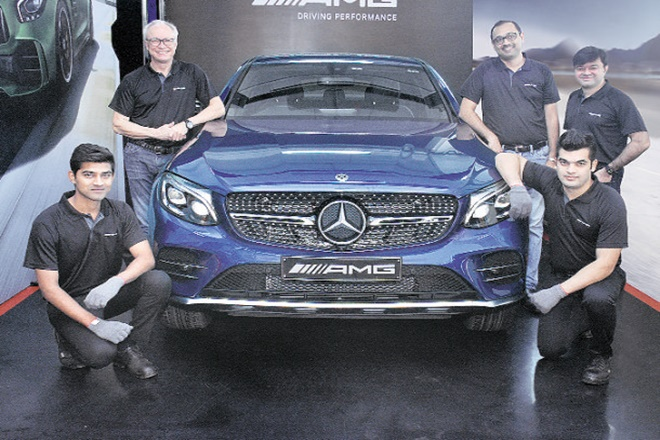 Mercedes, AMG Services Bay, pune, Mercedes Benz Academy, Mercedes Benz India, JD Power 2017 India Customer Service Index, Roland Folger, AMG Performance Centre