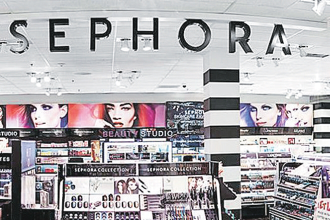 Sephora India, French retailer,  sales growth, Tommy Hilfiger, Nautica, GAP,  Euromonitor International report