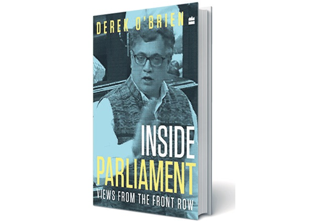 Book review, Inside Parliament, Derek O'Brien,Parliament