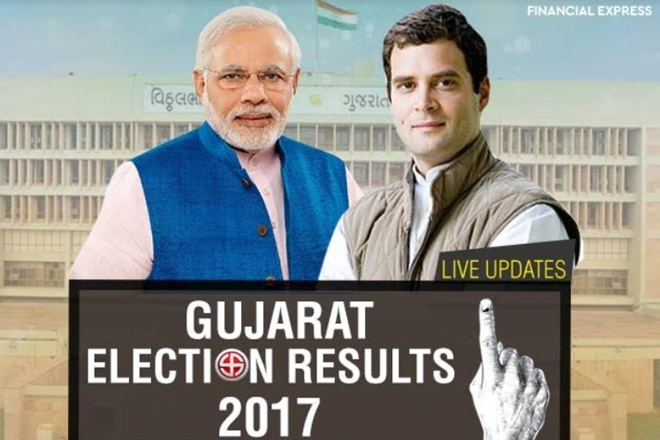 gujarat election result, gujarat election result 2017, gujarat election results, gujarat polls results, gujarat elections 2017, gujarat elections 2012, rahul gandhi, narendra modi, bjp vs congress,